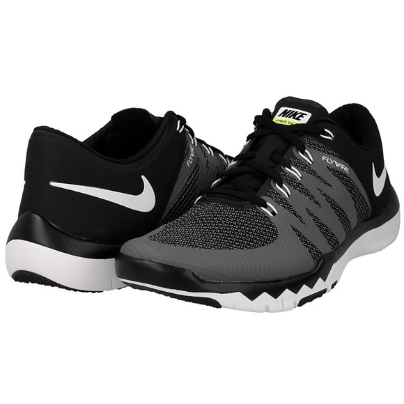 online store 47633 b5677 Nike Free Trainer 5.0 V6 Black/White-Dark Grey NWT